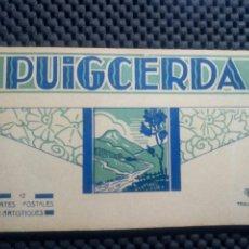 Postales: PUIGCERDA .- BLOCK 12 POSTALES .- PHOTOTYPIE LABOUCHE. Lote 103248506