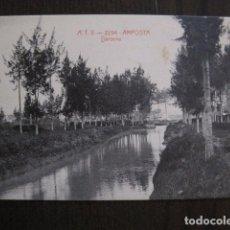 Postales: AMPOSTA - POSTAL ANTIGUA - ATV 2294- DARSENA -VER FOTOS - (50.930). Lote 103329251