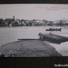 Postales: AMPOSTA - POSTAL ANTIGUA - ATV 2297- DESEMBARCADERO -VER FOTOS - (50.931). Lote 103329491