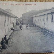 Postales: POSTAL DE SANT JOAN DE L'ERM.PATI DE LA CASA.FOTOTIPIA TOMAS.. Lote 103340503