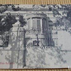 Postales: POSTAL ARBOS.VILLA ANTOÑITA.L. ROISIN.. Lote 103341547