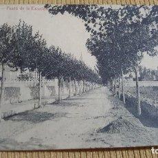Postales: POSTAL ARBOS.PASEO DE LA ESTACION.L.ROISIN CIRCULADA.. Lote 103342499