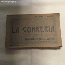Postales: LOTE DE 19 POSTALES DE LA CONRERIA. RESTAURANT DE HIJO DE AUTONELL.. Lote 103439311