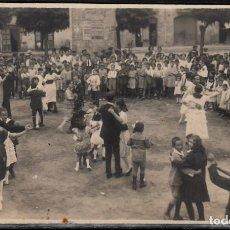 Postales: POSTAL FOTOGRAFICA DE GRANOLLERS - BAILE . Lote 103513931