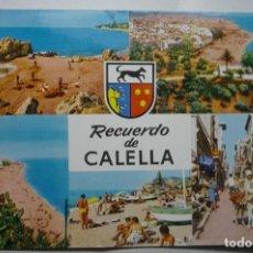 Postales: POSTAL CALELLA-VARIAS VISTAS CIRCULADA -- CM. Lote 103545103