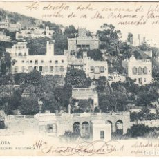 Postales: ANTIGUA POSTAL BARCELONA - ALREDEDORES VALLCARCA. Lote 103655747
