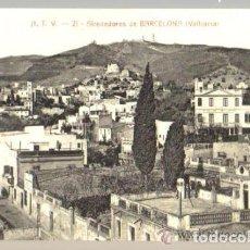 Postales: POSTAL ANTIGUA DE BARCELONA A.T.V. Nº 21 - VALLCARCA - ALREDEDORES DE BARCELONA . Lote 103746019