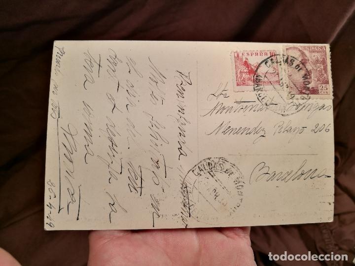 Postales: BARCELONA CALDAS DE MONTBUY ESCUELA AGRICOLA LA GRANJA. R. GASSO, FOT. POSTAL FOTOGRÁFICA - Foto 2 - 104316499