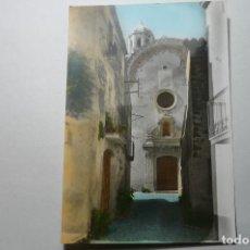 Postales: POSTAL COLOREADA VILOBI DE OÑAR ´FACHADA IGLESIA CM. Lote 104321887
