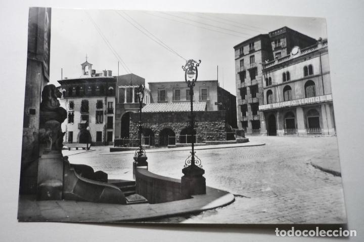 POSTAL CALDAS DE MALAVELLA PLAZA ESPAÑA --CIRCULADA CM (Postales - España - Cataluña Moderna (desde 1940))