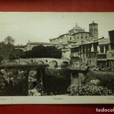 Postales: POSTAL - ESPAÑA - BARCELONA - 4.- VICH - CATEDRAL - FOTOS MELI - ESCRITA 1956. Lote 104332239