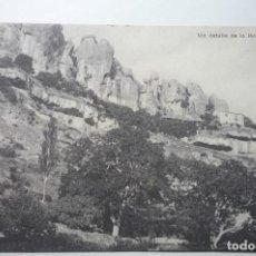 Postales: POSTAL CUENCA UN DETALLE DE LA HOZ DE HUESCAR .- CM. Lote 104496655