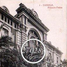 Postales: TARRASA (BARCELONA) Nº 1 ALMACEN FREIXA 5595 - FOTOTIPIA THOMAS - SIN CIRCULAR. Lote 104520439