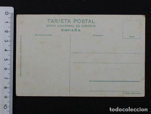 Postales: ANTIGUA POSTAL ARENYS DE MAR GENTE DE MAR PREPARANDO LA SALIDA, SIN ESCRIBIR NI CURCULAR - Foto 2 - 104614399
