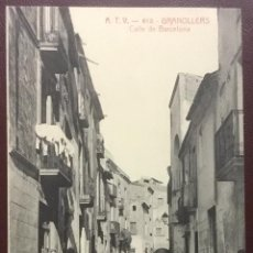 Postales: ATV - 612. GRANOLLERS. CALLE DE BARCELONA. . Lote 104684771