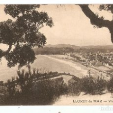 Postales: POSTAL - LLORET DE MAR - VISTA PARCIAL - GERONA - CLICHÉS MARTÍNEZ. Lote 104858787