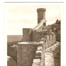 Postales: POSTAL - TOSSA (COSTA BRAVA) - GERONA - TORRE D'EN JOANAS Y MURALLAS - CLICHÉS FÁBREGAS. Lote 104864259