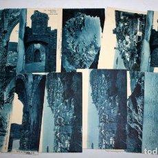 Postales: LOTE DE 11 ANTIGUAS POSTALES DE TOSSA DE MAR (GIRONA). COSTA BRAVA. L. ROISIN. SIN CIRCULAR. Lote 105159999