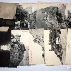 Postales: LOTE DE 12 ANTIGUAS POSTALES DE TOSSA DE MAR (GIRONA). COSTA BRAVA. L. ROISIN. FOTPIA. THOMAS (BCN). Lote 105163155