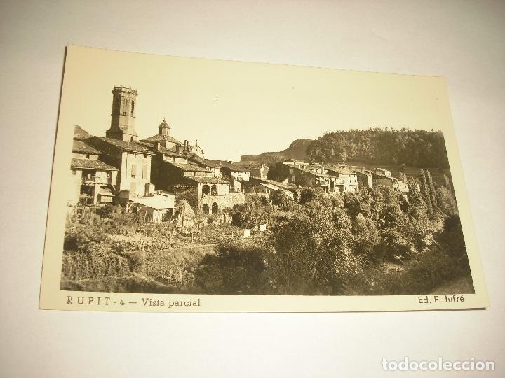 RUPIT 4, VISTA PARCIAL . F. JUFRÈ, SIN CIRCULAR (Postales - España - Cataluña Antigua (hasta 1939))