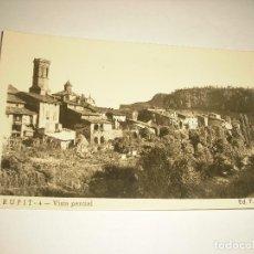 Postales: RUPIT 4, VISTA PARCIAL . F. JUFRÈ, SIN CIRCULAR. Lote 105189615