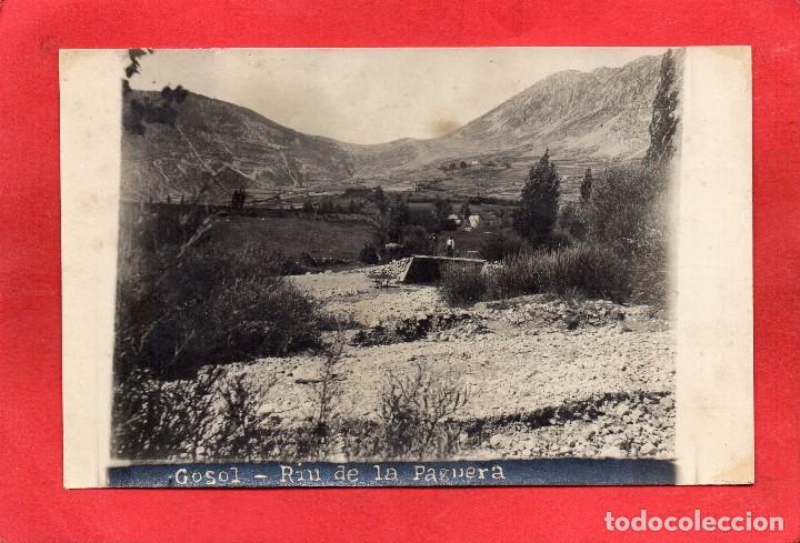 GOSOL. RIU DE LA PAGUERA (Postales - España - Cataluña Antigua (hasta 1939))