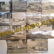 Postales: SEMANA TRAGICA BARCELONA 1909. LOTE 14 FOTO POSTALES ORIGINALES MORTUORIAS. Lote 105499211