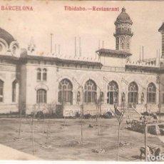 Postales: BARCELONA,TIBIDABO, RESTAURANT, MADRIGUERA,CIRCULADA. Lote 105684903