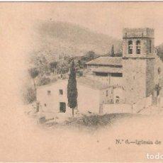 Cartes Postales: BARCELONA,IGLESIA DEL TIBIDABO, SIN DIVIDIR, SIN CIRCULAR. Lote 105685011