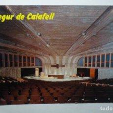 Postales: POSTAL SEGUR DE CALAFELL .-IGLESIA ASUNCION--CIRCULADA. Lote 105757295