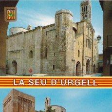 Postales: LA SEU D'URGELL VISTAS VARIAS POSTAL NO CIRCULADA. Lote 105894327