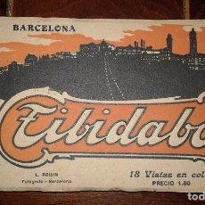 Postales: EL TIBIDABO DE BARCELONA - 18 POSTALES EN COLOR. Lote 105905675