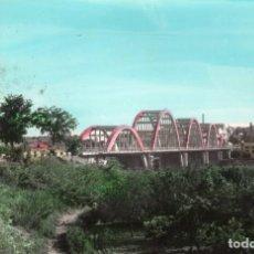Postales: MORA LA NUEVA TARRAGONA AÑO 1965 PUENTE SOBRE EL RIO EBRO . Lote 105994811