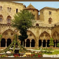 Postales: POSTAL TARRAGONA - COSTA DORADA CATEDRAL CLAUSTRO. Lote 106039295