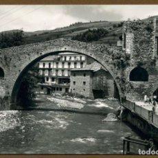 Postales: POSTAL GIRONA - CAMPRODON EL PUENTE ROMANO. Lote 106059931