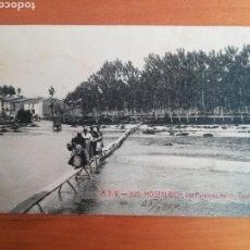 Postales: POSTAL HOSTALRICH LAS PALANCAS DEL RIU TORDERA - A.T.V. 1520. Lote 106213332