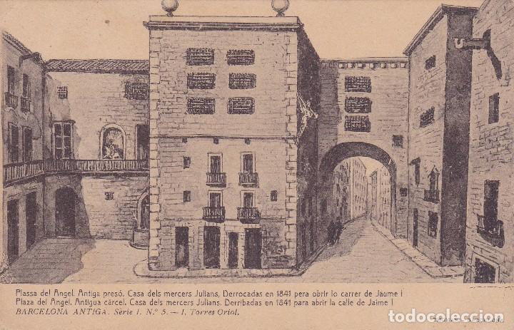 BARCELONA (CIRCULADA) (Postales - España - Cataluña Antigua (hasta 1939))