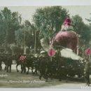 Postales: BARCELONA , CARROZA MERCADOS DE HORTA Y PROVENIR, FOTO: BELTRA. POSTAL FOTOGRÁFICA. 1926. Lote 107635303
