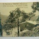 Postales: 19- BARCELONA, EXCURSIÓN AL TIBIDABO, NEVADA 1914, ROISIN FOTO. POSTAL FOTOGRÁFICA. Lote 107636459