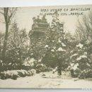 Postales: GRAN NEVADA DE BARCELONA, 1914. FOTO: VILÁ. POSTAL FOTOGRÁFICA. Lote 107640171