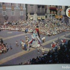 Postales: POSTAL BARCELONA PL.S.JAIME.-FIESTAS GIGANTES. Lote 107829315