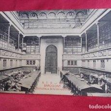 Postales: TARJETA POSTAL. A.T.V. 167. BARCELONA. BIBLIOTECA DE LA UNIVERSIDAD. ANGEL TOLDRÁ. Lote 107837415