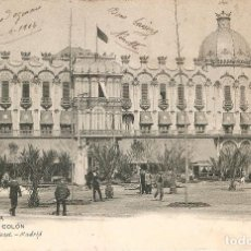 Postales: BARCELONA 1409 HOTEL COLÓN H. Y MENET CIRCULADA . Lote 107843223