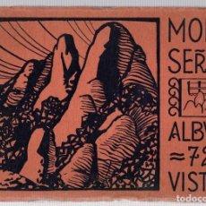 Postales: MONTSERRAT- ALBUM 72 VISTAS. HUECOGRABADO RIEUSSET. Lote 108062620