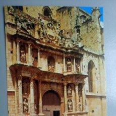 Postales: POSTAL MONTBLANC FACHADA IGLESIA DE SANTA MARIA TARRAGONA. Lote 108238828