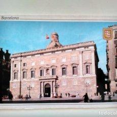 Postales: POSTAL BARCELONA PLAZA SANT JAUME PALAU DE LA GENERALITAT, FABREGAT Nº 053, NO ESCRITA. Lote 108694499