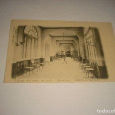 Postales: COLEGIO DE LORETO, LAS CORTS BARCELONA. GALERIAS DE SAN LUIS, SIN CIRCULAR. Lote 108823099