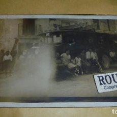 Postales: TARRAGONA - TORREDEMBARRA - VENDRELL - TARRAGONA - POBLA DE MONTORNES , ANTIGUA PPSTAL FOTOGRAFICA. Lote 108909159