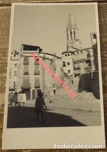 ANTIGUA POSTAL FOTOGRAFICA DE GERONA (Postales - España - Cataluña Antigua (hasta 1939))