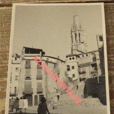 Postales: ANTIGUA POSTAL FOTOGRAFICA DE GERONA. Lote 108916203